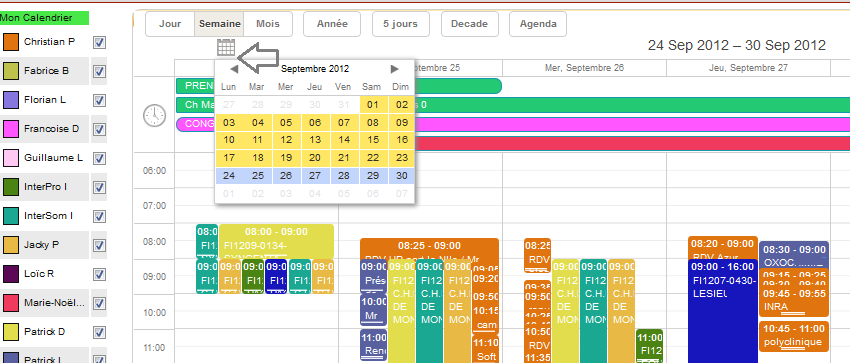 logiciel de planning synchronis avec google agenda. Black Bedroom Furniture Sets. Home Design Ideas