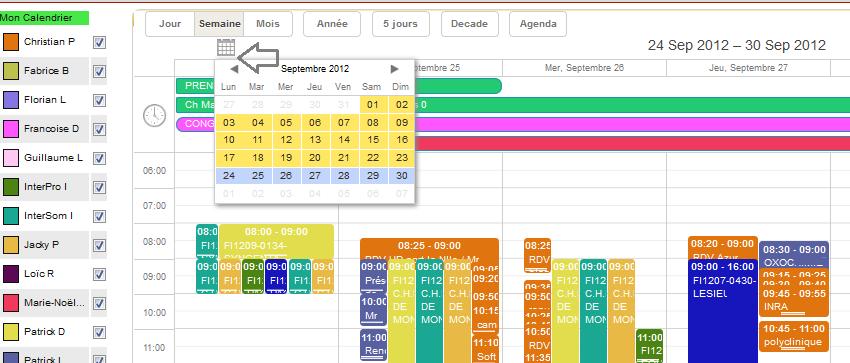 Logiciel de planning et gestion de planning