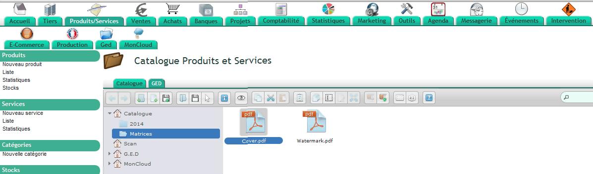 Catalogue automatique dans votre ERP Dolibarr
