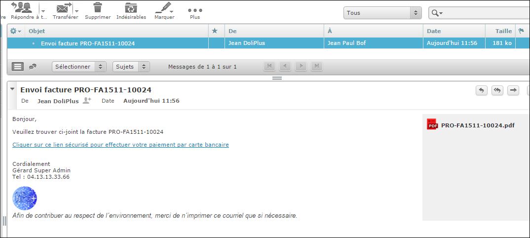Paiement en ligne Paybox par cartes bancaires avec Dolibarr